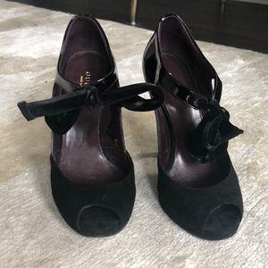 Black Gucci heels
